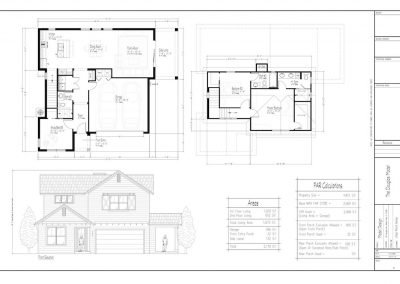 New Homes Orlando Douglas Floor Plan Elevation